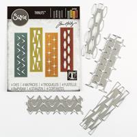 Sizzix® Thinlits™ Set of 4 Dies - Retro Repeat-281991