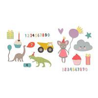 Sizzix® Thinlits™ Die Sets - Birthday by My Life Handmade-282290