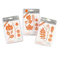 Tonic 3 x Verso Die Sets - Fallen Leaves, September Harvest & Aut-282299