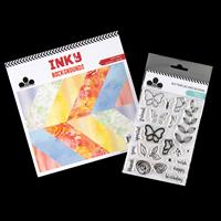 Craftwork Cards Inky Backgrounds 36 Sheets Papers with Butterflie-282469