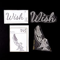 Nina Crafts Flower Wish Fairy Stamp Set - 2 Stamps-284558