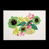 Rowandean Embroidery Summer Leaves-287808
