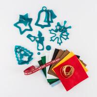 Kallosphere Christmas Decoration Template Set 2 - x 5 Shapes, 10