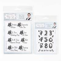 Sentimentally Yours 2 x Stamp Sets - Elegant Numbers & Chic Flora-291173