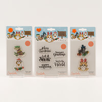 Tonic Festive Friends Clear Stamp Set   Festive Sentiments  Dogs -291470