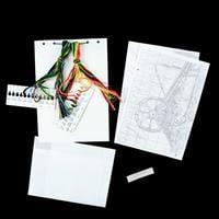 Permin Flowers in Wheelbarrow Aida Cross Stitch Kit - Finished Si-291631