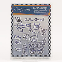 Claritystamp Stamp Set with Mask - New Arrival-293144