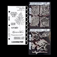 Art Gone Wild 3 x Stamp Sets -  Art Studio 490,Christmas Time & A-293617