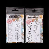 AALL & Create 2 Stamp Sets - Marking Time and Arches and Peaks - -295361