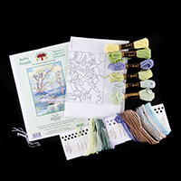 Stitch Kits Seasonal Walk Long Stitch Kit-296610