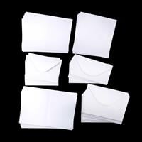 Craft Creations 100 Assorted Size White Value Cards & Envelopes-297035
