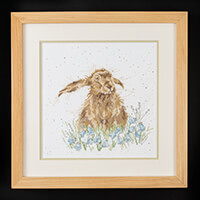 Stitch Kits Wrendale Hare Counted Cross Stitch Kit-300071