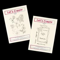 Let's Create 2 x Clear Stamp Sets - Wild Flowers & Victorian Fram-300468