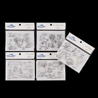 Mark Bardsley 5 x A6 Stamp Sets - Man's Best Friend - 41 Stamps i-301270