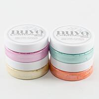 Nuvo 4 x Embellishment Mousse - Lemon, Orange, Pink & Aquamarine-303630