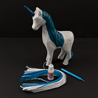 Crazy Quilling® Unicorn Kit -  Quilling Tool, Glue, Quilling Pape-306485