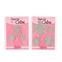 Dies by Chloe Christmas Snowflake Die Duo - 7 Dies-306910