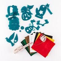 Kallosphere Christmas Decoration Template Set 1 - x 5 Shapes, 10 -309574