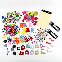 Luxury Assorted Sticker, Glitter and Embellishment Collection-309835