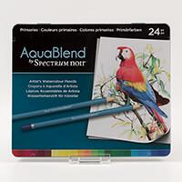 Spectrum Aquablend Pencils x 24 - Primaries-310938