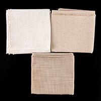 Milly-Tilly Lightweight Linen Fabric Bundle - 3 x 1/2m - 54