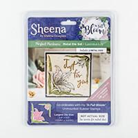 Sheena Perfect Partners In Full Bloom Die - Luscious Lily - 2 Die-312617