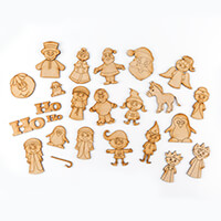 Karacter Krafts Mini Bumper Christmas Character & Embellishment S-314158