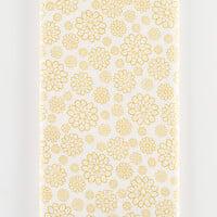 Threaders Summer Bloom Fabric (Gold) - 1 Metre-316402