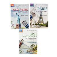 Search Press Set of 3 Ready to Paint Books - Irish Landscapes, Pa-316945
