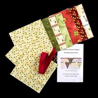 Cotton Cocktails 4 Metre Christmas Bunting Kit with 15 Flags-319283