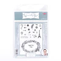 Sentimentally Yours Timeless Journey A5 Frame Stamp Set - 24 Stam-320532