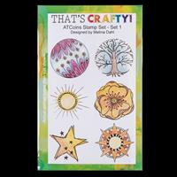 That's Crafty! A5 Clear Stamp Set - ATCoin-320993