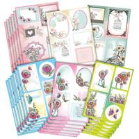 Posydoodles Spring Song Paper Collection - 24 A4 Sheets, 6 Design-323096