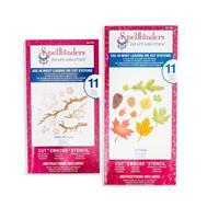 Spellbinders 2 x Shapeabilities Die Sets - Cherry Blossom & Fall -325234