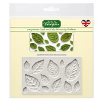 Katy Sue Rose Leaves Silicone Mould-328162