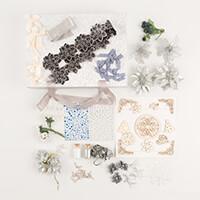 Dawn Bibby Silver Embellishment Kit - 21 packs-328808