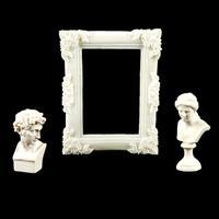 Junkyard Bazaar Figure Set - Him, Her & Vintage Frame-329098