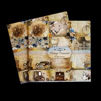 Vintage Treasures by The Craft Box 2 x 6x6