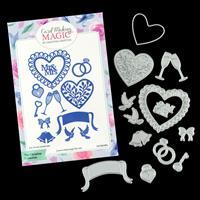 Card Making Magic Love and Marriage Die Set - 13 Dies-335080