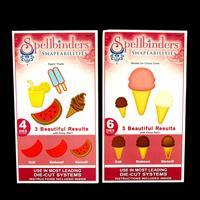 Spellbinders Shapeabilities 2 x Die Sets - Sweet Treats & Nested -335445
