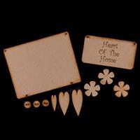 Karacter Krafts Hanging Kit - Plaque, Engraved Sentiment Plaque, -336899