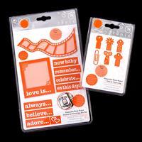 Tonic Keepsake Photos & Filmstrips and Tabs & Paperclips Die Set -337445
