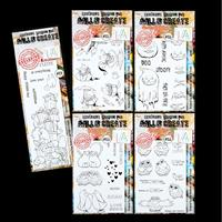 AALL & Create 5 x Stamp Sets - Purrfect, Quack the Duck, Spooks, -338064