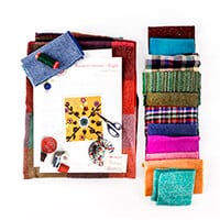 Fabric Affair Random Harvest Quilt Kit - 40
