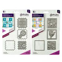 Gemini Create a Card Dies - Cogs and Tulip Patchwork - 12 Dies-338854