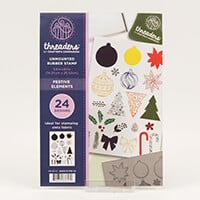 Threaders A5 Rubber Stamp-338855