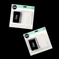 Sizzix® Accessory 2 x Ink Pads & Acrylic Blocks-339223
