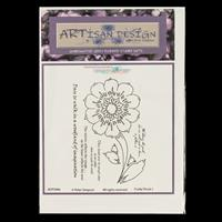 Artisan Design Funky Floral A6 Stamp Sheet - Funky 2-341054