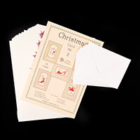 Dolly Dimples Festive Dress Card Making Kit - Makes 10 Cards-343476