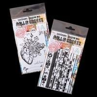 AALL & Create Clear Stamp Sets - Blooming Heart and Clear Single -344330